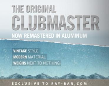 """Фото:""""Облегченный Ray-Ban Clubmaster"""""""