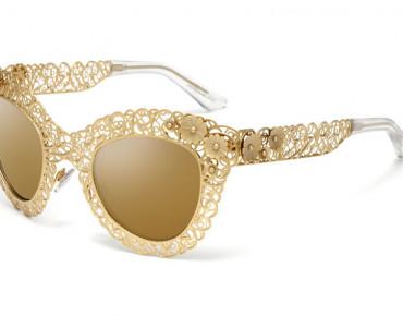 "Фото:""Солнцезащитные очки Dolce & Gabbana ярче золота"""