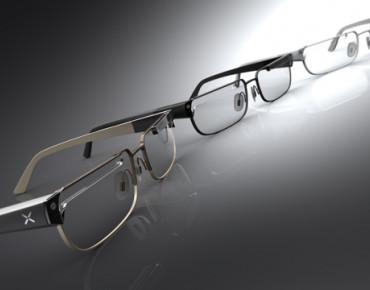 "Фото:""Очки объединяющие Google Glass с Nexus TV"""
