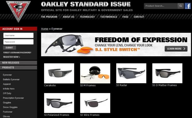 """Фото:""""Военные будни солнцезащитных очков Oakley"""""""