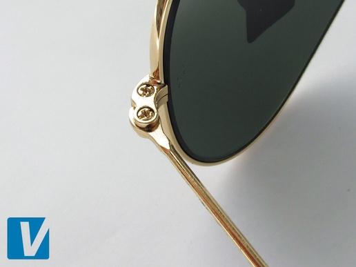 Ray Ban Aviator как отличить оригинальные солнцезащитные очки от ... 52ef8ff514d
