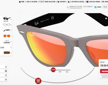 """Фото:""""Собери свои солнцезащитные очки Ray-Ban"""""""