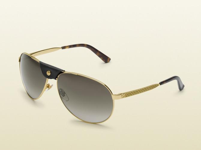 """Фото:""""Винтажные солнцезащитные очки Aviator от Gucci"""""""