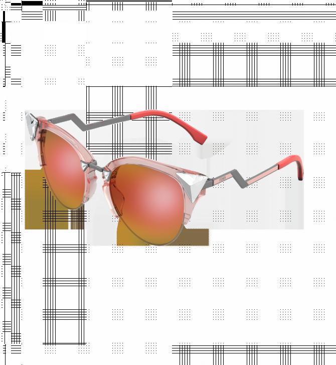 """Фото:""""Солнцезащитные очки Fendi Iridia заглядывают в будущее"""""""