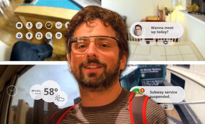 """Фото:""""Мобильные технологии в Google очках"""""""