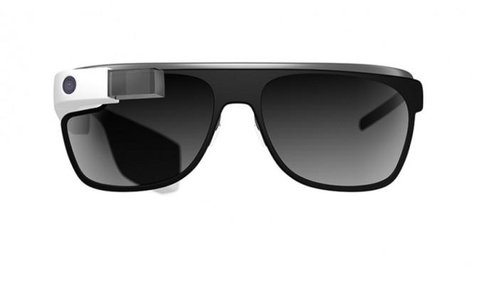 """Фото:""""Очки Google Glass становятся солнцезащитными"""""""