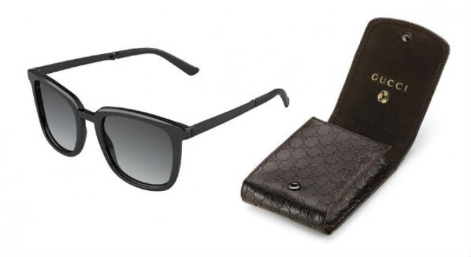 """Фото:""""Изысканные складные солнцезащитные очки Gucci"""""""