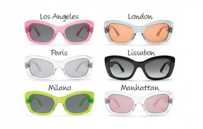 """Фото:""""Солнцезащитные очки Prada Postcard Sunglasses"""""""