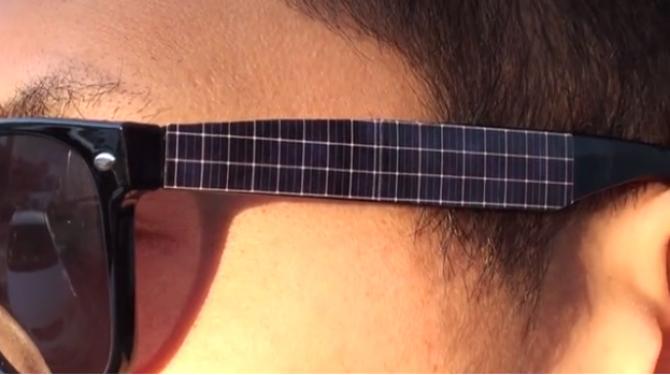 """Фото:""""Зеленые технологии в солнцезащитных очках Wayfarer"""""""