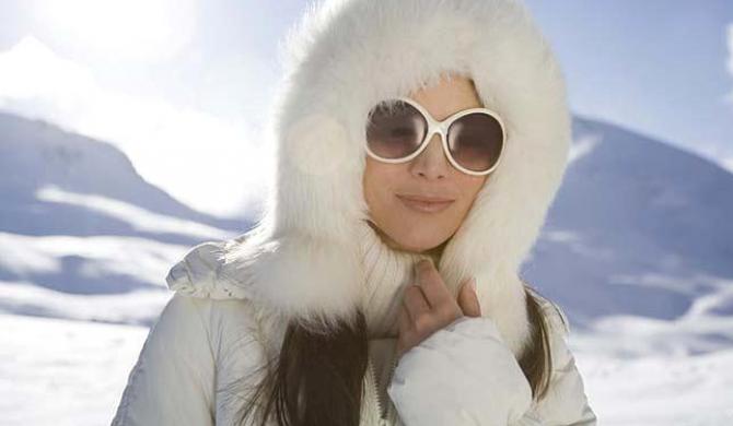 """Фото:""""Защита глаз от зимнего солнца"""""""